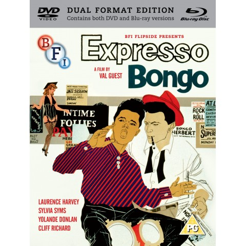 EXPRESSO BONGO - FULL FILM - DUAL (2) DISCS - DVD + BLURAY