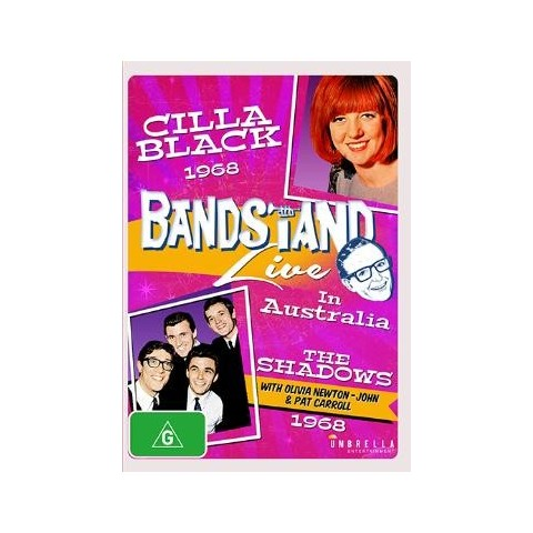 BANDSTAND - LIVE IN AUSTRALIA - WITH THE SHADOWS & CILLA BLACK 1968 - DVD