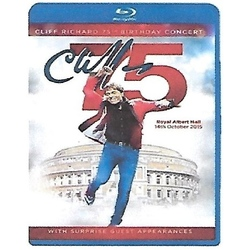 CLIFF RICHARD - 75th BIRTHDAY CONCERT - IMPORT - BLURAY