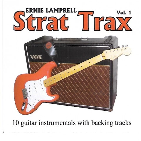 ERNIE LAMPRELL - STRAT TRAX VOLUME 1 - BACKING TRACKS -CD