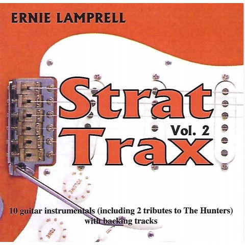 ERNIE LAMPRELL - STRAT TRAX VOLUME 2 - BACKING TRACK CD