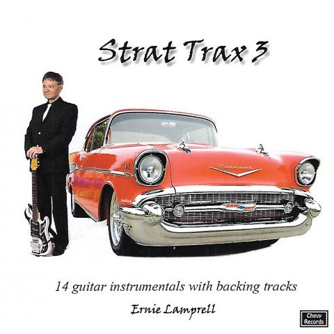 ERNIE LAMPRELL - STRAT TRAX VOLUME 3 - BACKING TRACKS - CD