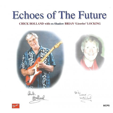 CHICK HOLLAND - ECHOES OF THE FUTURE FEAT LIC LOCKING - CD WITH BACKING TRACKS