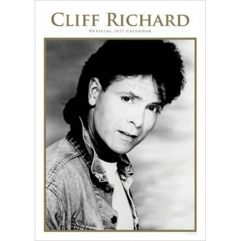 CLIFF RICHARD - OFFICIAL CALENDAR 2017 - A3