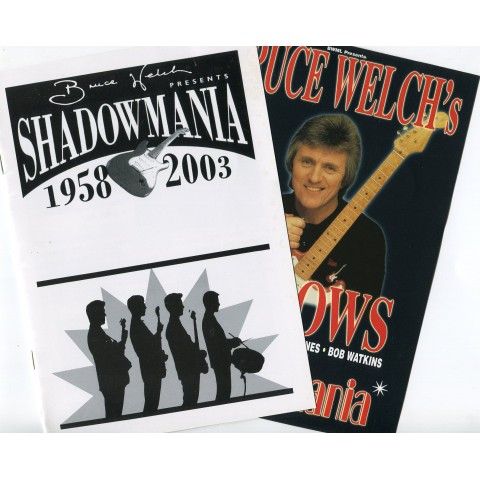 SHADOWMANIA 2003  EVENT 'PROGRAMME'