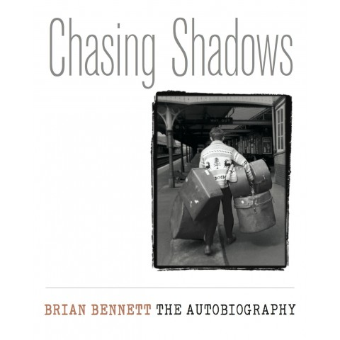 BRIAN BENNETT - CHASING SHADOWS  - AUTOBIOGRAPHY - BOOK