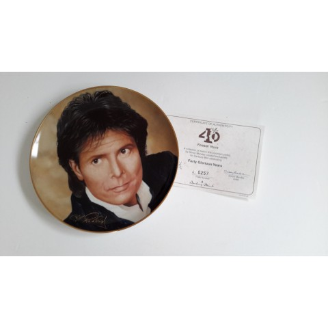 """FOREVER YOURS"" COMMEMORATIVE PLATE"