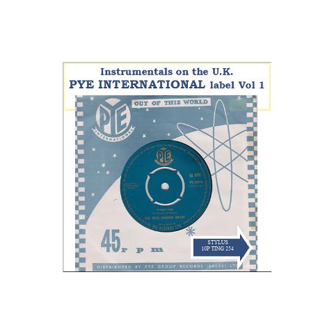 PYE INTERNATIONAL VOL 1 - STYLUS - CD