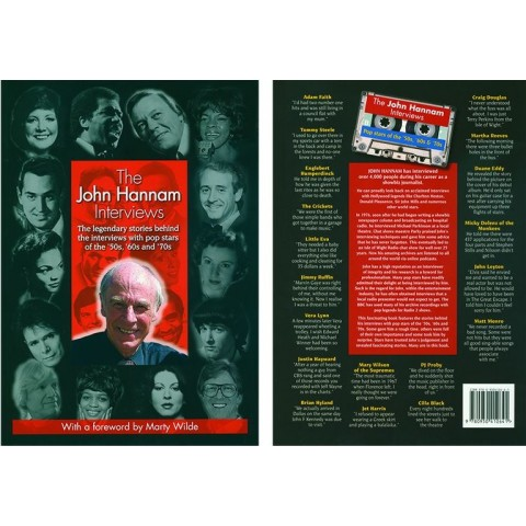 JOHN HANNAM INTERVIEWS - INC HANK - JET - MARTY - BOOK
