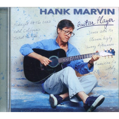 HANK MARVIN  -  GUITAR PLAYER - DANISH - CD