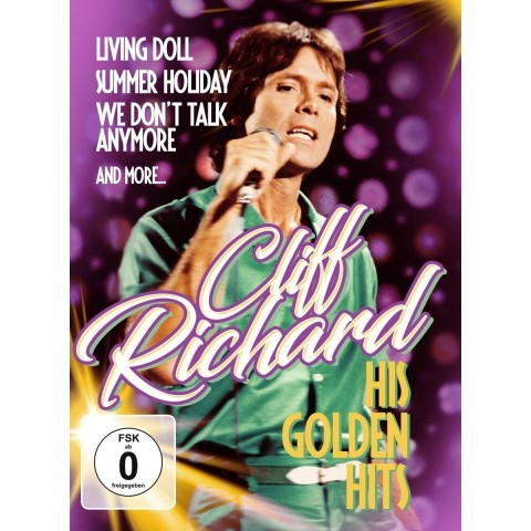 CLIFF RICHARD - HIS GOLDEN HITS -  DVD - GERMAN IMPORT