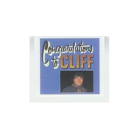 CLIFF RICHARD - CONGRATULATIONS TO CLIFF - CD