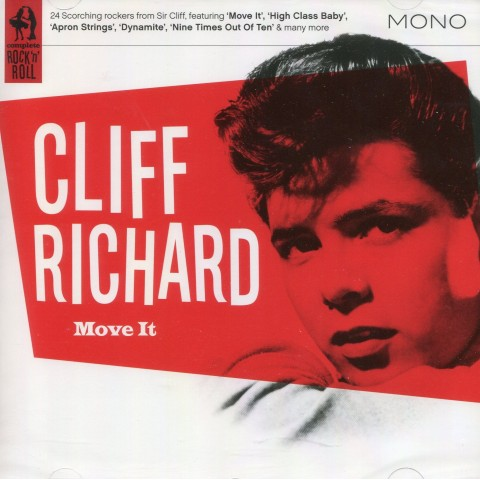 CLIFF RICHARD - MOVE IT - CD