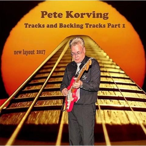 PETE KORVING - BACKING TRACK VOLUME 1 - CD IMPORT