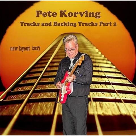PETE KORVING - BACKING TRACK VOLUME 2 - IMPORT CD