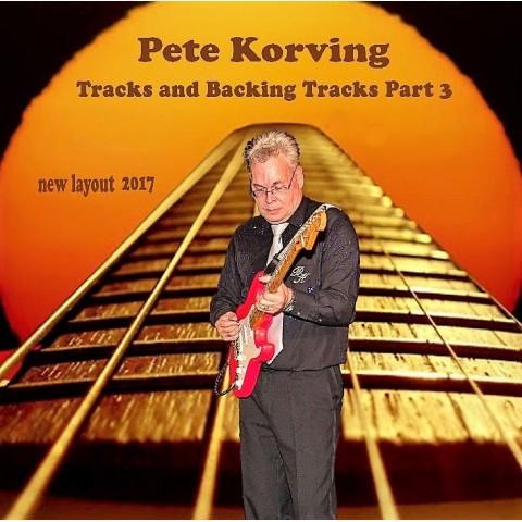 PETE KORVING - BACKING TRACK VOLUME 3 - IMPORT CD