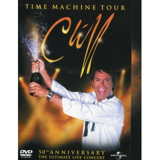 "CLIFF RICHARD, ""TIME MACHINE"" (50th Anniversary Concert) DVD"