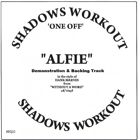 IAN MCCUTCHEON - ALFIE 2 TRACK -  BACKING TRACK CD