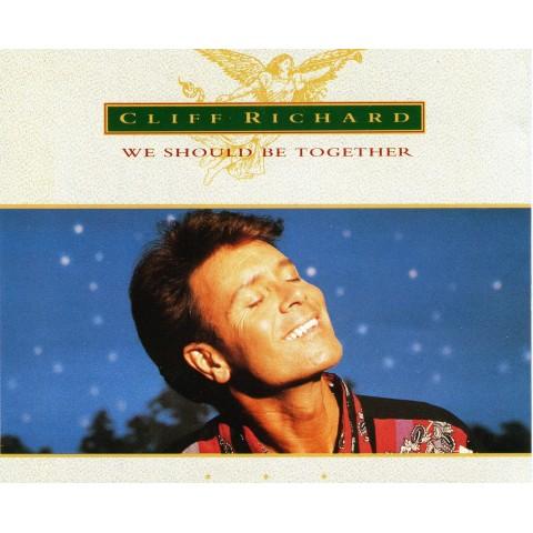 CLIFF RICHARD  - WE SHOULD BE TOGETHER -  CD SINGLE