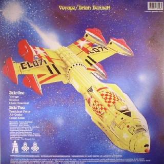 BRIAN BENNETT - VOYAGER - VINYL - IMPORT -  REISSUE