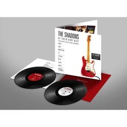 BLACK VINYL - THE SHADOWS - AT THEIR VERY BEST - 2 LP