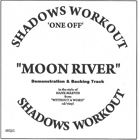 IAN MCCUTCHEON - MOON RIVER - 2 TRACK -  BACKING TRACK CD