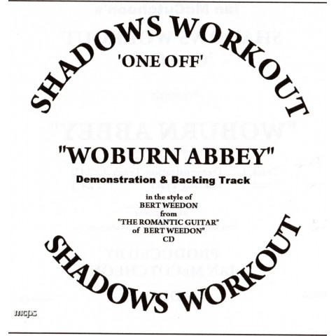 IAN MCCUTCHEON - WOBURN ABBEY -  2 TRACK BACKING TRACK - CD