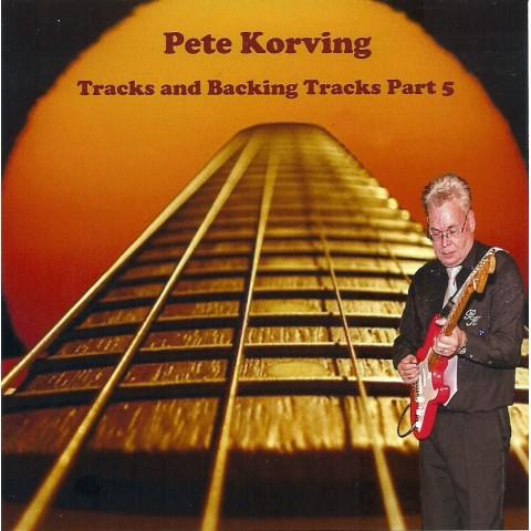 PETE KORVING- BACKING TRACK VOLUME 5 - IMPORT CD