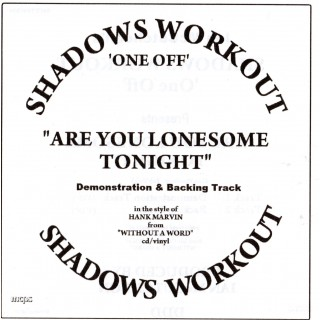 IAN MCCUTCHEON - ARE YOU LONESOME TONIGHT - BACKING TRACK - CD