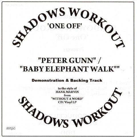 IAN MCCUTCHEON - PETER GUNN / BABY ELEPHANT WALK - BACKING TRACK - CD
