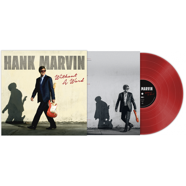 HANK MARVIN - WITHOUT A WORD - RED VINYL - LP