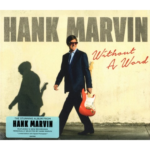 HANK MARVIN - WITHOUT A WORD - CD