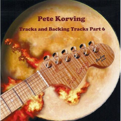 PETE KORVING- BACKING TRACK VOLUME 6  - IMPORT CD