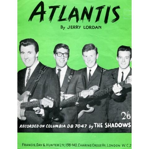 """ATLANTIS"" THE SHADOWS SHEET MUSIC"