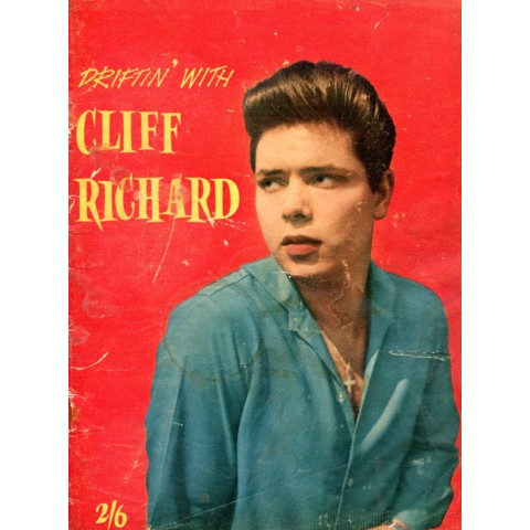 CLIFF RICHARD - DRIFTIN WITH CLIFF RICHARD - RARE BOOK