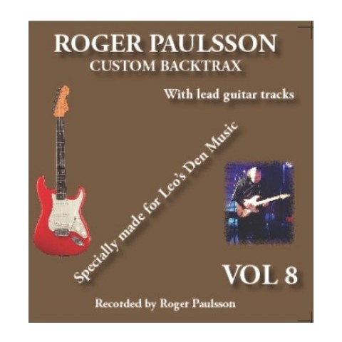 ROGER PAULSSON -  CUSTOM BACKTRAX VOL. 8 - Backing Track CD WITH Tabs