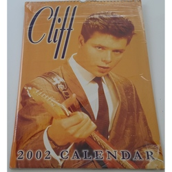 CLIFF RICHARD 2002 UNOFFICIAL A3 CALENDAR