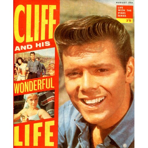 CLIFF & HIS WONDERFUL LIFE    RARE BOOK/MAGAZINE