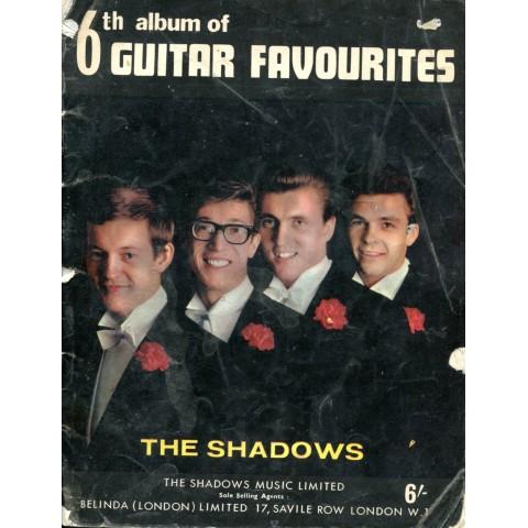 THE SHADOWS 6TH ALBUM OF GUITAR FAVOURITES