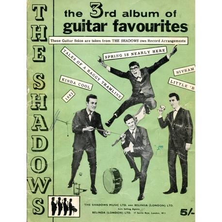 THE SHADOWS 3RD ALBUM OF GUITAR FAVOURITES