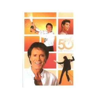 DVD - CLIFF RICHARD - CLIFF'S 50TH ANNIVERSARY