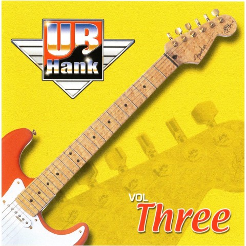 UB HANK VOL 3 - BACKING TRACK CD WITH COMPLETE TAB SET