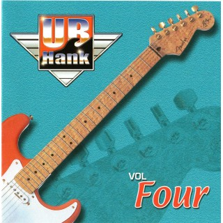 UB HANK VOL.4 - BACKING TRACK CD WITH COMPLETE TAB SET