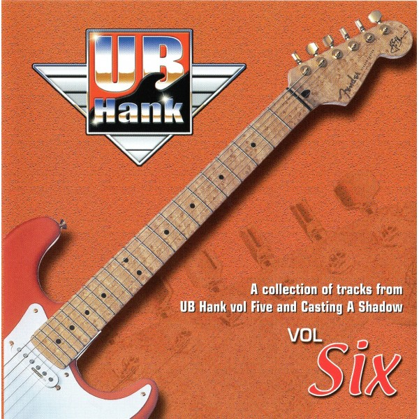 UB HANK VOL.6 - BACKING TRACK CD WITH COMPLETE TAB SET
