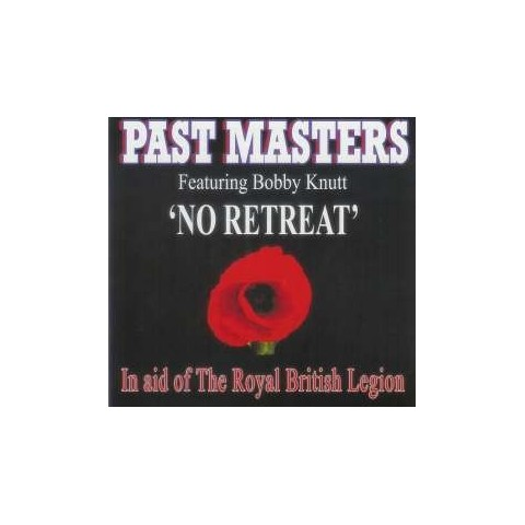CD/DVD/BACKING TRACKS - PAST MASTERS WITH BOBBY KNUTT - NO RETREAT