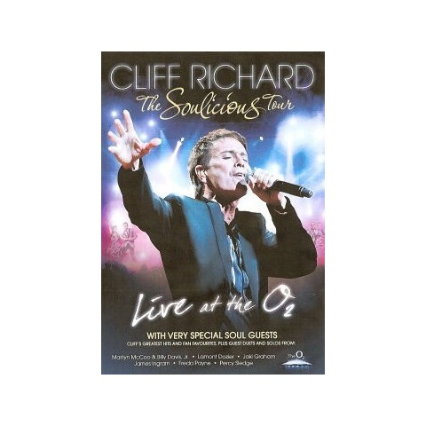 CLIFF RICHARD AND GUESTS - THE SOULICIOUS TOUR - DVD