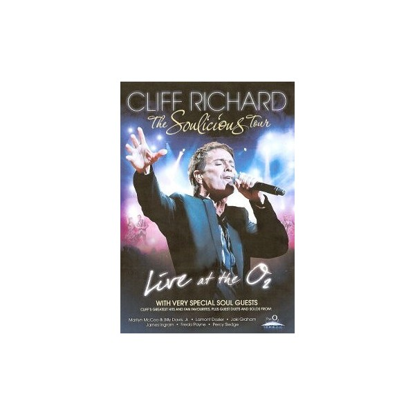 DVD - CLIFF RICHARD AND GUESTS - THE SOULICIOUS TOUR