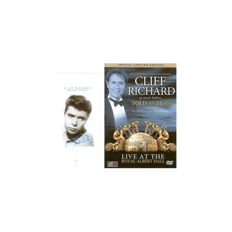 CLIFF RICHARD - BOLD AS BRASS - Limited Edition DVD