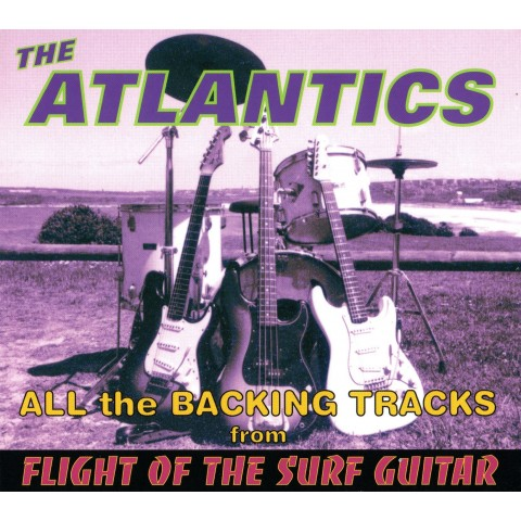 ATLANTICS - FLIGHT OF THE SURF GUITAR - BACKING TRACK - CD - IMPORT