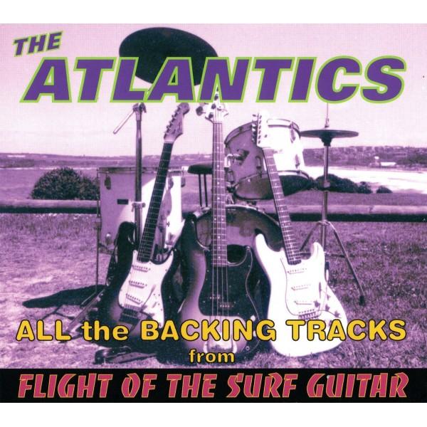 ATLANTICS - FLIGHT OF THE SURF GUITAR - BACKING TRACK - CD - IMPORT